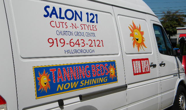 Vehicle Lettering & Wraps